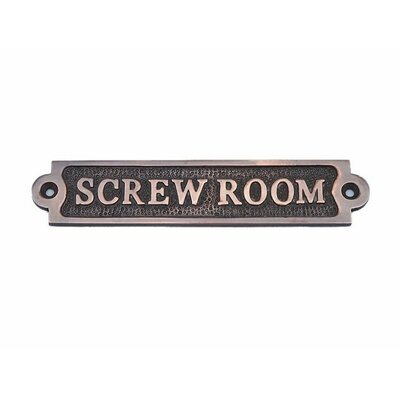 Screw Room Wall D�cor