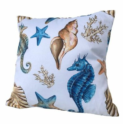 Lyusha Coastal Throw Pillow