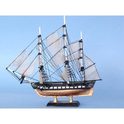 Wood Constitution Limited Model Ship