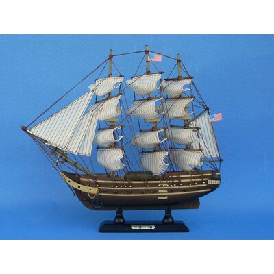 Wood Constitution Model Ship