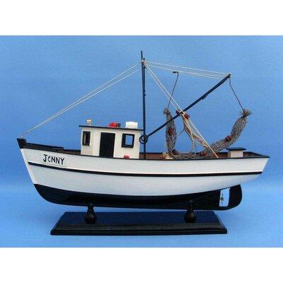 Forrest Gump Jenny Shrimp Model Boat