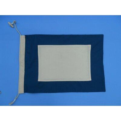 Letter P Cloth Nautical Alphabet Flag Wall Décor