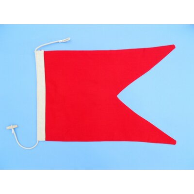 Letter B Cloth Nautical Alphabet Flag Wall Décor