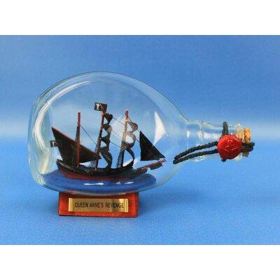 Tarrytown Pirate Model Ship in a Bottle
