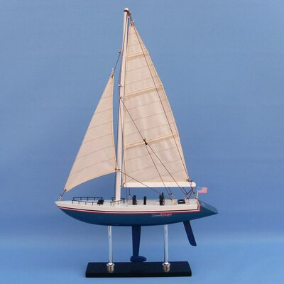 Stars and Stripes Model Yacht