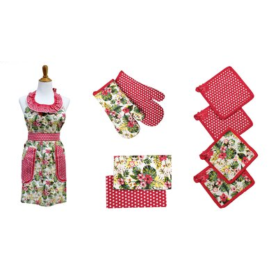 9 Piece Apron Set