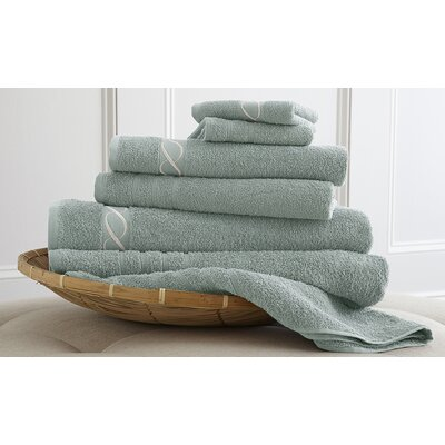 Spa 6 Piece Towel Set Color: Jade