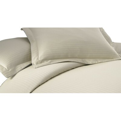 3 Piece Duvet Cover Set Size: King, Color: Champagne