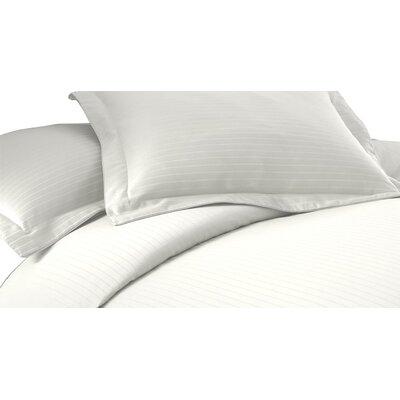 3 Piece Duvet Cover Set Size: King, Color: White