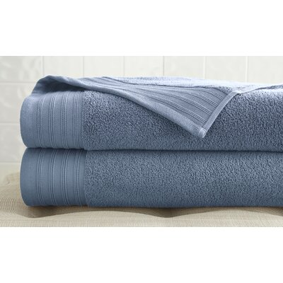 2 Piece Bath Towel Set Color: Soft Blue