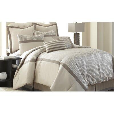 Buettner 8 Piece Comforter Set