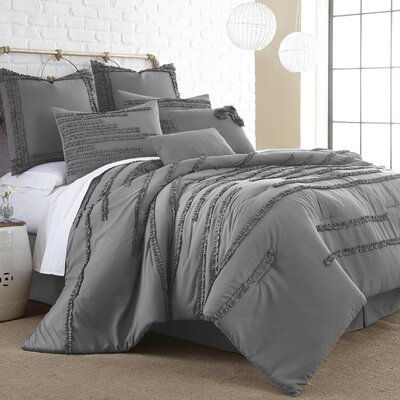 Coelho 8 Piece Comforter Set Size: King