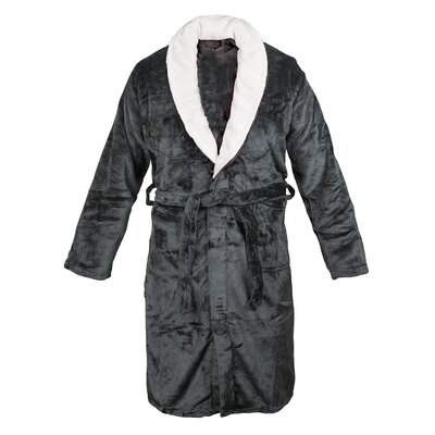 Bathrobe Color: Black