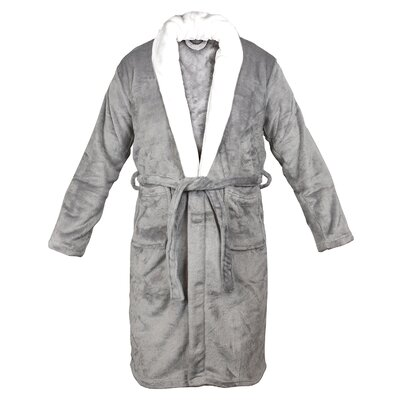 Bathrobe Color: Gray