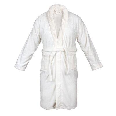 Bathrobe Color: White