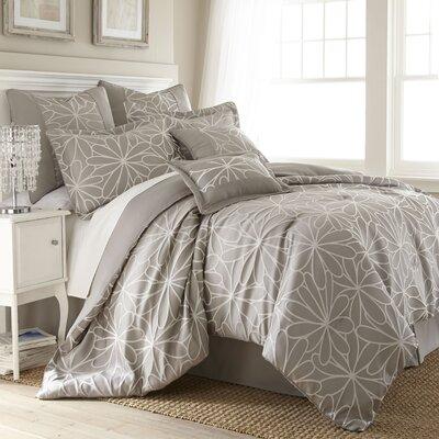 Sandisfield 8 Piece Comforter Set Size: King