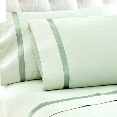 Fine Linens Sheet Set Size: Queen, Color: Jade