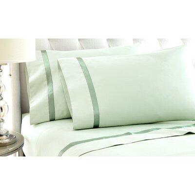 Fine Sheet Set Size: Queen, Color: Jade