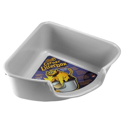Corner Litter Box Color: Gray