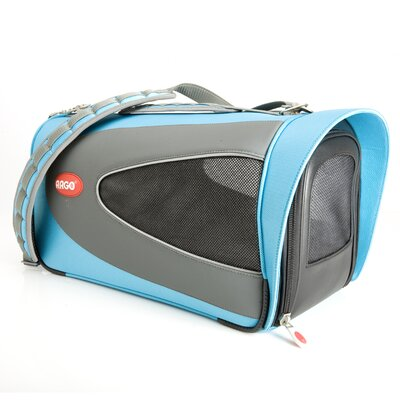 Argo Petascope Pet Carrier Size: Small (9.25 H x 10 W x 18 L), Color: Blue