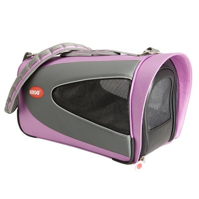 Argo Petascope Pet Carrier Size: Medium (11.5 H x 11.5 W x 23 L), Color: Pink