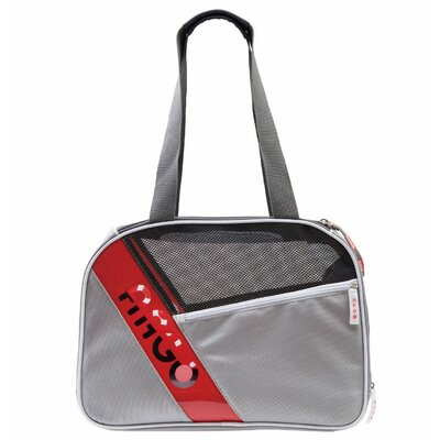 Argo City-Pet Airline Approved Pet Carrier Color: Gray with White Trim