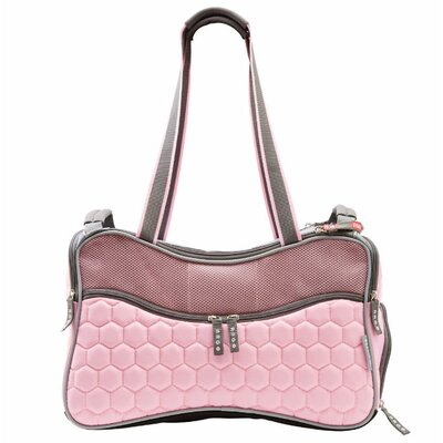 Jenkin Argo Petagon Airline Approved Pet Carrier Color: Tokyo Pink, Size: 11 H x 9.5 W x 17.75 D
