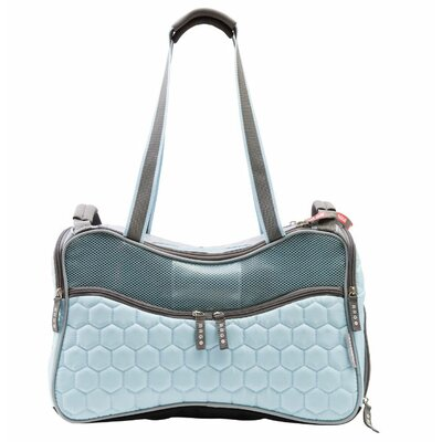 Argo Petagon Airline Approved Pet Carrier Color: Maldives Blue, Size: 11 H x 9.5 W x 17.75 D