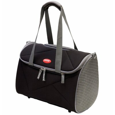 Argo Avion Airline Approved Pet Carrier Color: Black