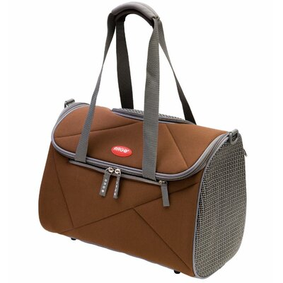 Argo Avion Airline Approved Pet Carrier Color: Chocolate Brown