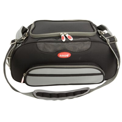 Argo Aero-Pet Airline Approved Pet Carrier Color: Black, Size: Small (8.5 H x 10.5 W x 18.5 L)