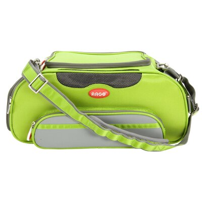 Argo Aero-Pet Airline Approved Pet Carrier Color: Green, Size: Small (8.5 H x 10.5 W x 18.5 L)