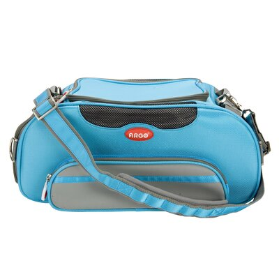 Argo Aero-Pet Airline Approved Pet Carrier Color: Blue, Size: Large (9.25 H x 10 W x 20 L)
