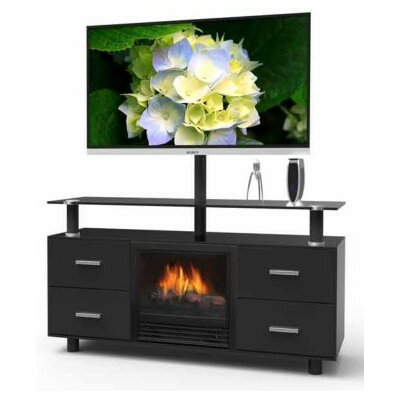 "Stonegate Galaxy 47.125"" TV Stand with Electric Fireplace at Sears.com"