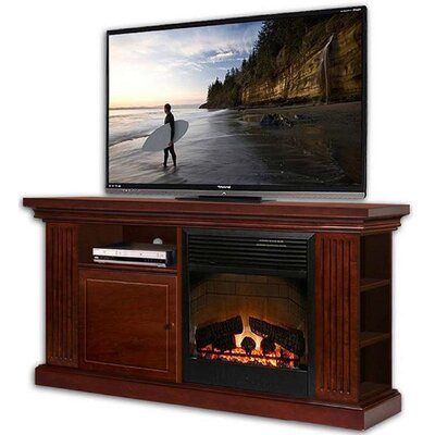 "Yorkshire 49.25"" TV Stand with Electric Fireplace"