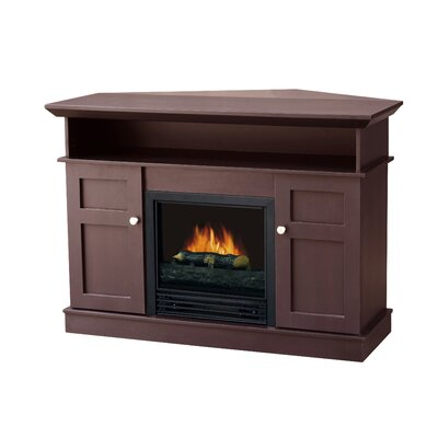 "Stonegate Monte Carlo 43.63"" TV Stand with Electric Fireplace - Finish: Chocolate at Sears.com"