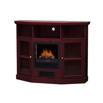 "Stonegate Hawthorne 48"" TV Stand with Electric Fireplace - Finish: Cherry at Sears.com"