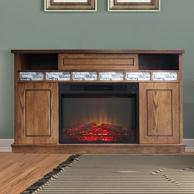 Bristol 50 TV Stand with Fireplace