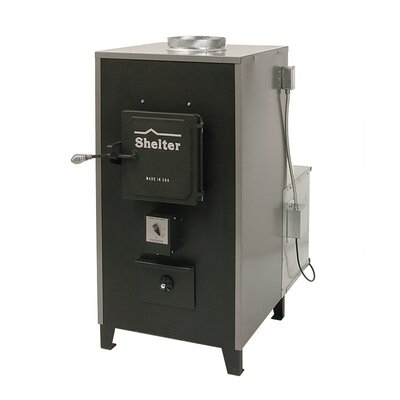 Shelter 100,000 BTU Indoor Wood Coal Burning Forced Air Furnace at Sears.com