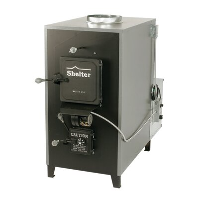 Shelter 150,000 BTU Indoor Wood Coal Burning Forced Air Furnace at Sears.com