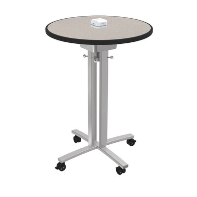 Circular 42H x 30W x 30L Conference Table Top Finish: Gray Glace
