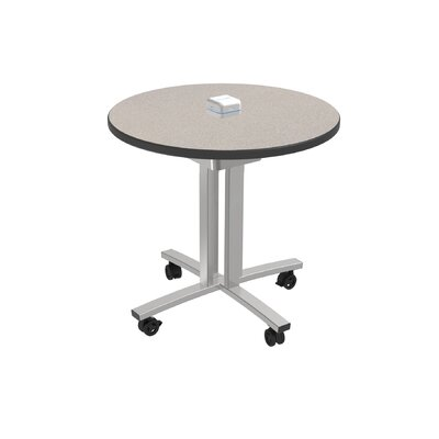 Circular 29H x 30W x 30L Conference Table Top Finish: Gray Glace