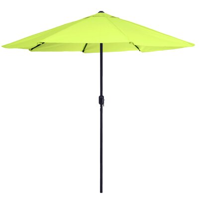 9 Market Umbrella Color: Lime Green
