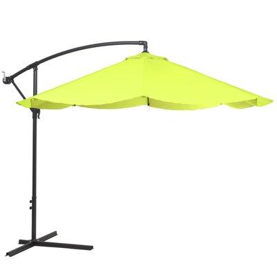 10 Cantilever Umbrella Color: Lime Green