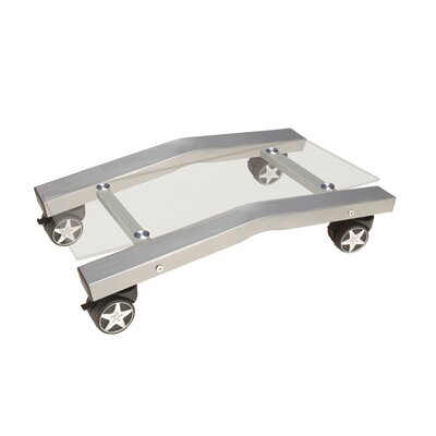 4.5 H x 12 W Desk CPU Holder Color: Clear