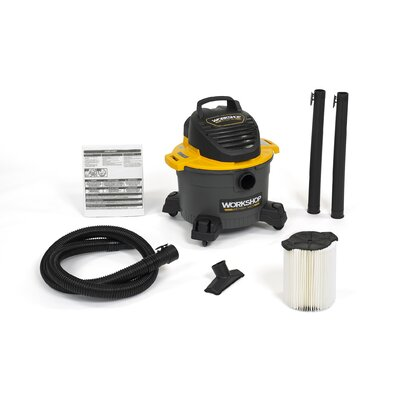 6 Gallon 3.5 Peak HP General Purpose Wet/Dry Vacuum WS0610VA