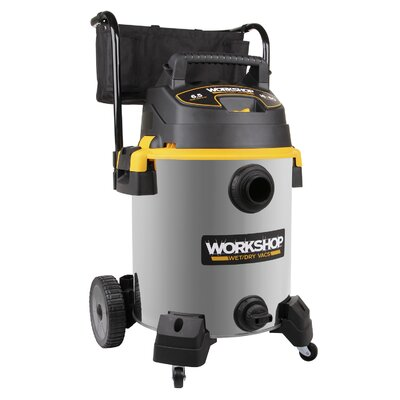 Workshop 16 Gal. 6.5 Peak HP Stainless Steel Wet/Dry Cart Vac at Sears.com
