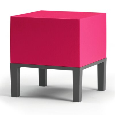 Primary Pouf Upholstery: Magenta