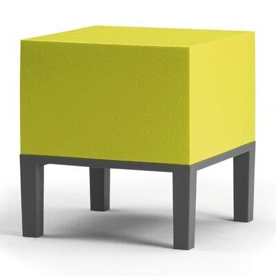 Primary Pouf Upholstery: Yellow