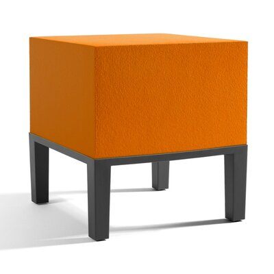 Primary Ottoman Upholstery: Orange